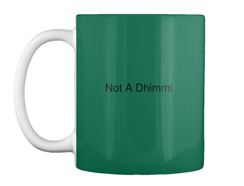 not a dhimmi coffee mug