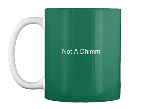not a dhimmi white mug