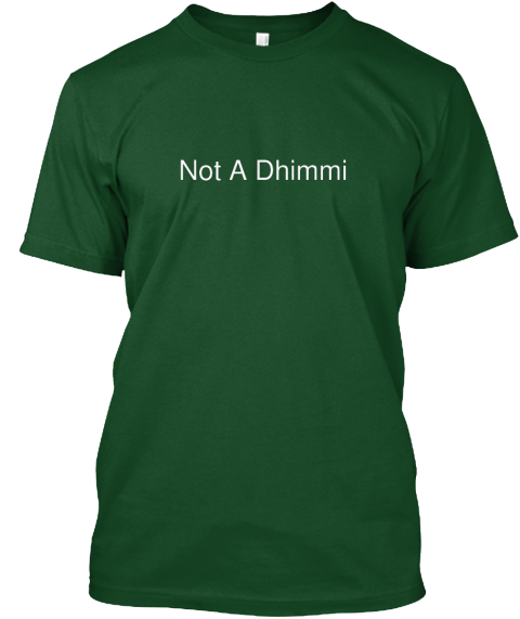 not a dhimmi white shirt