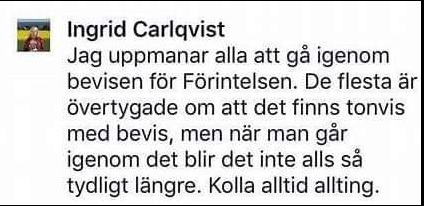 ingrid carlqvist denies the holocaust