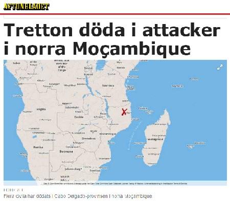 Mozambique Aftonbladet