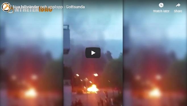 Gottsunda riots 2016