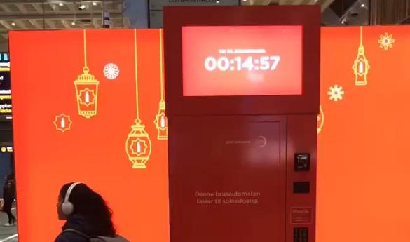 Oslo fasting soda machine