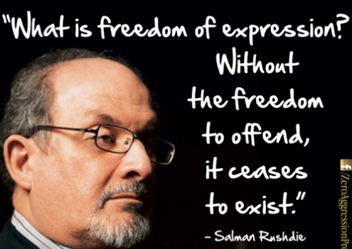 Salman Rushdie Freedom of Expression