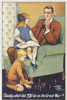 Daddy what did you do in the great war